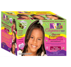 Africa's Best Kids Original Natural Conditioning Relaxer System With Scalpguard ( Coarse Kit ) - Kid's Care - Express Beauty USA