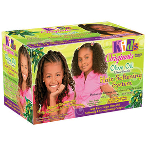 Africa's Best Kids Organics Olive Oil Hair Softening System Kit - Kid's Care - Express Beauty USA