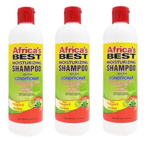 Africa's Best Moisturizing Shampoo with Conditioner Improved Formula 12 Oz - Shampoo & Conditioner - Express Beauty USA