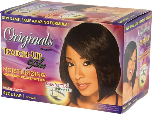 Africa's Best Original Organic Touch-Up Conditioning No Lye Relaxer System 1Ap - Hair Care Products - Express Beauty USA