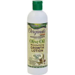 Africa's Best Originals Olive Oil Maximum Strength Molsturizing Growth Lotion 12 Oz - All Products - Express Beauty USA