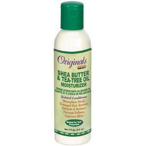 Africa's Best Originals Shea Butter & Tea Tree Oil Moisturizer 6 Oz - Hair Care Products - Express Beauty USA