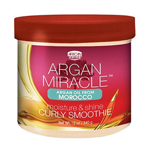 African Pride Argan Miracle Curly Smoothie 12 Oz - Hair Care Products - Express Beauty USA