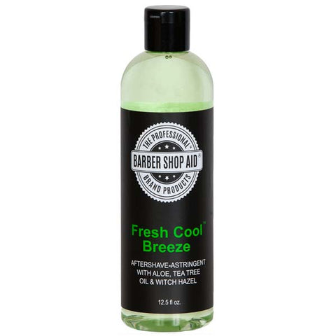 Barber Shop Aid FRESH COOL BREEZE AFTER SHAVE & ASTRINGENT With ALOE 12.5 Oz -  - Express Beauty USA