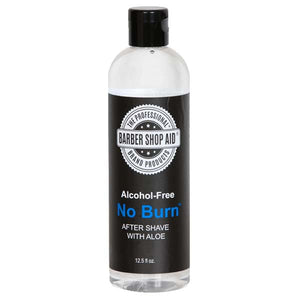 Barber Shop Aid NO BURN Alcohol Free AFTER SHAVE With ALOE 12.5 Oz - All Products - Express Beauty USA
