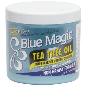Blue Magic TEA TREE LEAVE-IN CONDITIONER 13.75oz - Hair Care Products - Express Beauty USA