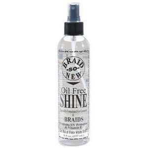 Braid So New OIL FREE SHINE Get Rid Of Flaky UV PROTECTOR 8 Oz - All Products - Express Beauty USA