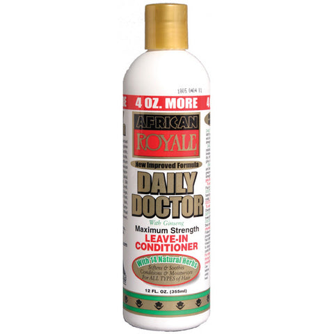 B&B African Royale Daily Doctor Maximum Strength Leave In Conditioner, 12 Oz - All Products - Express Beauty USA