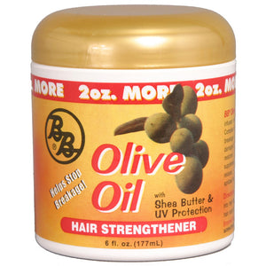 B&B Olive Oil Hair Strengthener 6oz w/ Shea Butter & UV Protection 6 Oz - All Products - Express Beauty USA