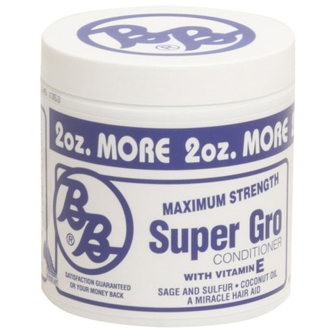 B&B Super Gro Conditioner with Vitamin E, Maximum Strength 6 Oz - Conditioner - Express Beauty USA