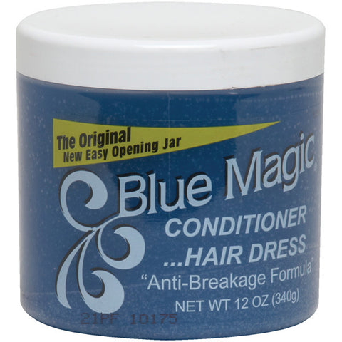 Blue Magic CONDITIONER HAIR DRESS (BLUE) 12 oz - Hair Care Products - Express Beauty USA