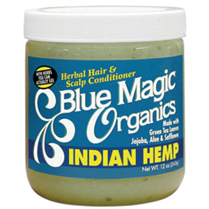 Blue Magic HAIR & SCALP CONDITIONER ORGANICS INDIAN HEMP - Hair Care Products - Express Beauty USA