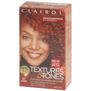 Clairol Text/Tone 4C-COGNAC - Hair Color - Express Beauty USA