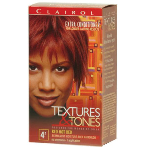 Clairol Text/Tone 4R-RED HOT RED - Hair Color - Express Beauty USA