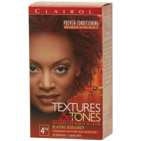 Clairol Text/Tone 4RV-BLAZING BUR - Hair Color - Express Beauty USA