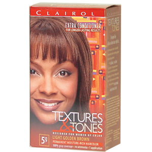 Clairol Text/Tone 5G-LIGHT GOLD BROWN - Hair Color - Express Beauty USA