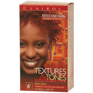 Clairol Text/Tone 6R-RUBY RAGE - Hair Color - Express Beauty USA