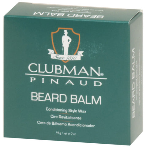 Clubman Pinaud Beard Balm STYLE WAX 2 Oz - Men's Care - Express Beauty USA