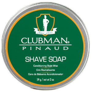 Clubman Pinaud SHAVE SOAP MOISTURIZING [ PACKAGE'S LOOK VARIES] 2 Oz - Men's Care - Express Beauty USA