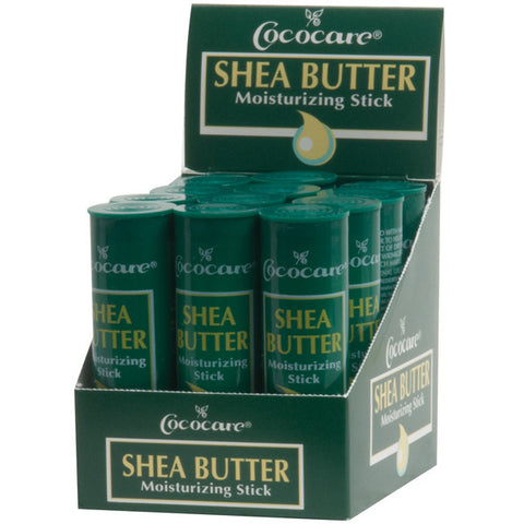 Cococare SHEA BUTTER STICK 1 Oz (12 PCS)