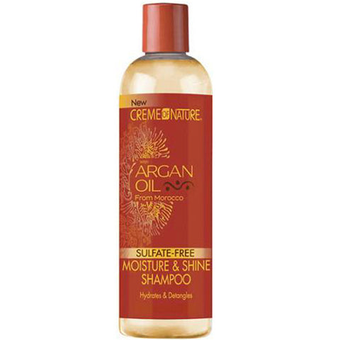 Creme Of Nature Argan Oil Sulfate-Free MOISTURE & SHINE SHAMPOO