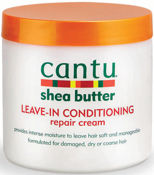 Cantu Shea Butter LEAVE-IN CONDITIONING REPAIR CREAM 16 Oz - All Products - Express Beauty USA