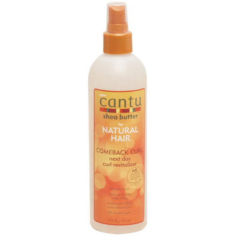 Cantu Shea Butter NATURAL COMEBACK CURL REVITALIZER 12 Oz - All Products - Express Beauty USA