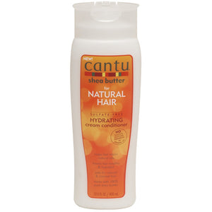 Cantu Shea Butter NATURAL HYDRATING CREAM CONDITIONER 13.5 Oz - All Products - Express Beauty USA