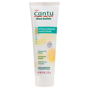 Cantu Shea Butter SENSITIVE HYPOALLERGENIC CONDITIONER 8 Oz - All Products - Express Beauty USA