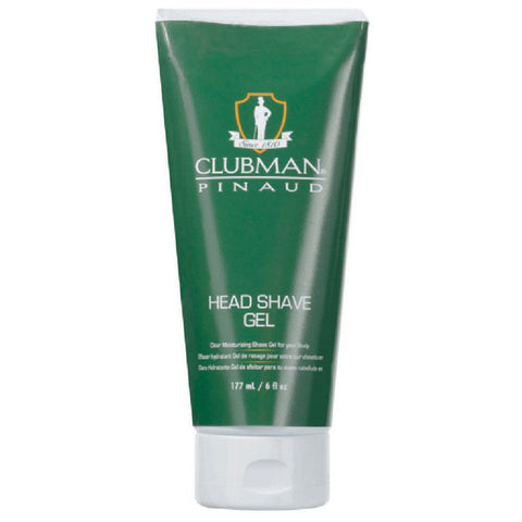 Clubman Pinaud HEAD SHAVE GEL TUBE Smooth & slick 6 Oz - Men's Care - Express Beauty USA
