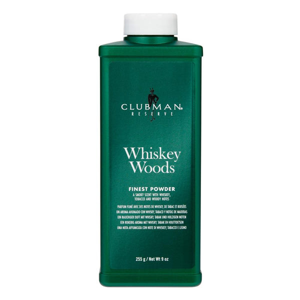Clubman Reserve WHISKEY WOOD FINEST POWDER 9 Oz - Men's Care - Express Beauty USA