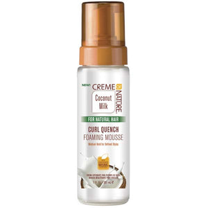 Creme Of Nature Argan Oil  FOAMING MOUSSE Style and Shine 7 Oz