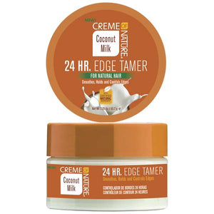Creme Of Nature Coconut Milk 24 HR. EDGE TAMER 2.25 Oz