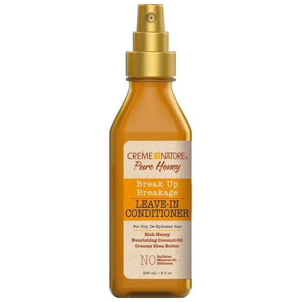 Creme Of Nature Pure Honey Break Up Breakage LEAVE-IN CONDITIONER 8 Oz