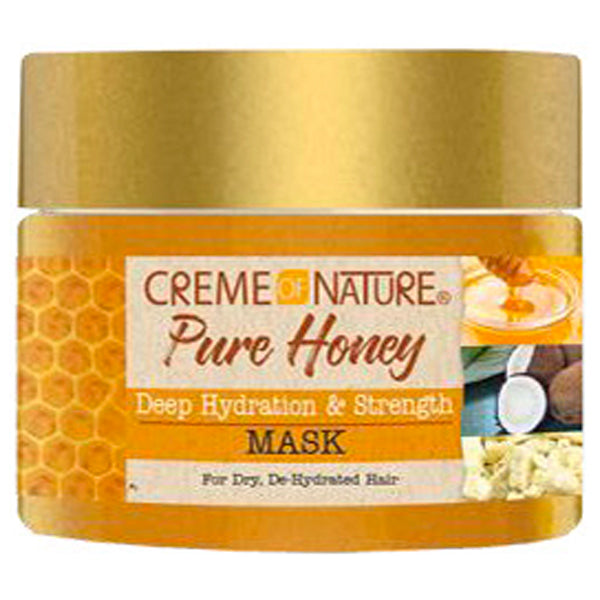 Creme Of Nature Pure Honey Deep Hydration & Strength MASK 11.5 Oz