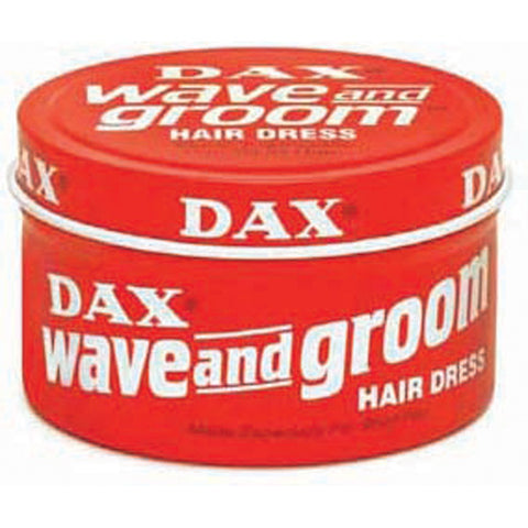 DAX HAIR Red WAVE AND GROOM Hair Dress 3.5 Oz