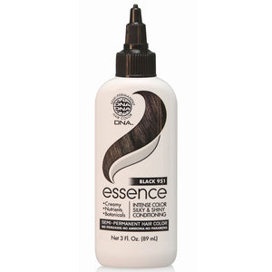 DNA ESSENCE Semi Hair Color Silky & Shiny 951 BLACK 3 Oz