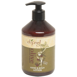 Difeel Organic BODY & HAND LOTION Essential Nutrients 16 Oz