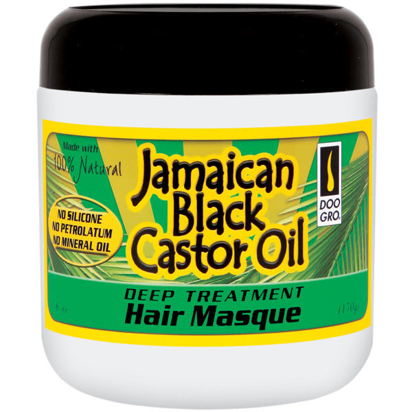 Doo Gro Jamaican Black Castor Oil DEEP TREATMENT HAIR MASQUE 6 Oz