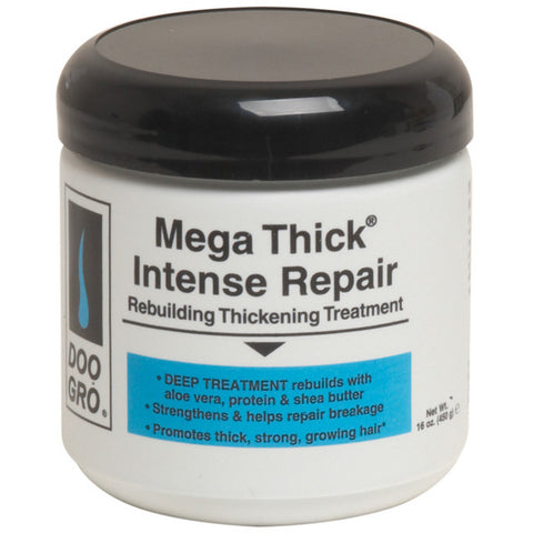 Doo Gro MEGA THICK INTENSE REPAIR Rebuilding Thickening Treatment 16 Oz