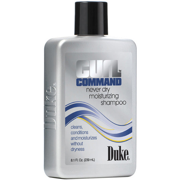 Duke Curl Command NEVER DRY MOISTURIZING SHAMPOO 8 Oz