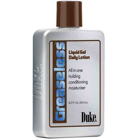 Duke GREASELESS LIQUID GEL DAILY LOTION ALL IN ONE HOLDING 8 Oz