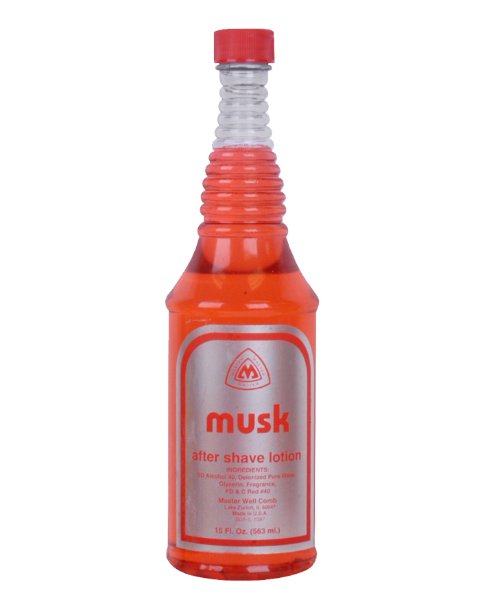 MASTER AFTERSHAVE - RED MUSK 15 OZ