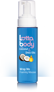 Lottabody Coconut & Shea Oil WRAP ME Foaming MousseE 7 Oz