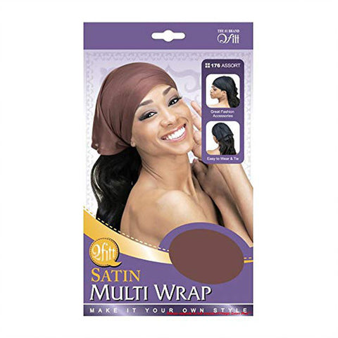 [PACK OF 6] Qfitt Satin Multi Wrap