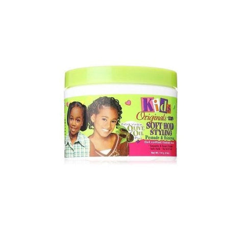 Africa's Best Kids Originals Soft Hold Styling POMADE & HAIR DRESS 4 Oz
