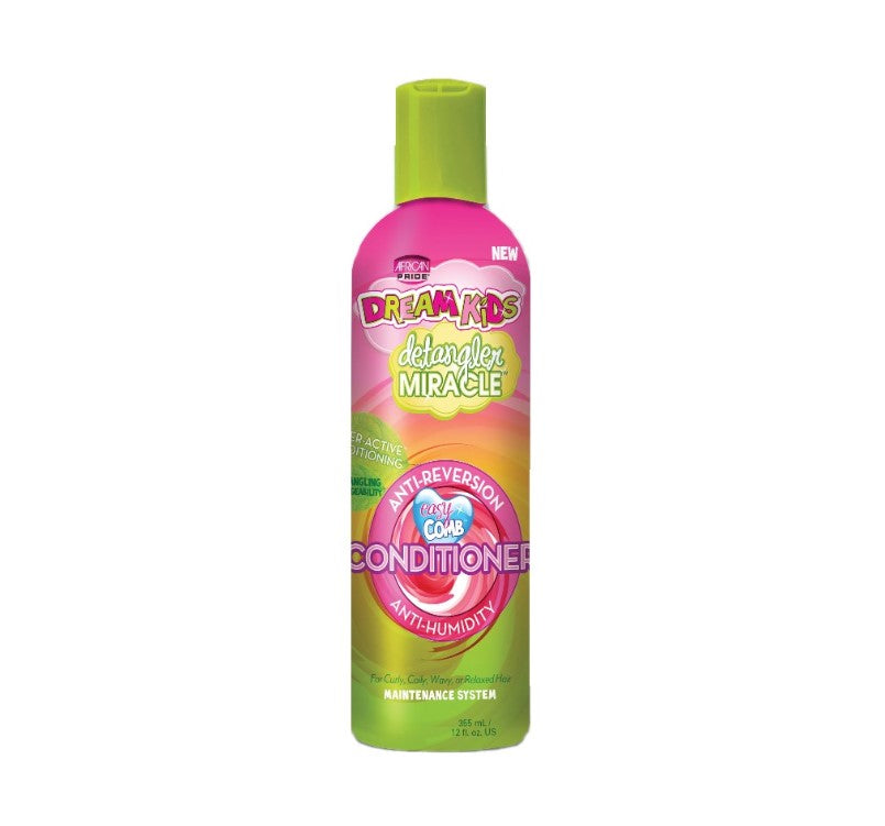 African Pride Dream Kids Detargler Miracle Conditioner 12 Oz - Kid's Care - Express Beauty USA
