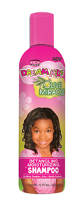 African Pride Dream Kids Olive Miracle Detangling Moisturizing Shampoo 12 Oz - Kid's Care - Express Beauty USA
