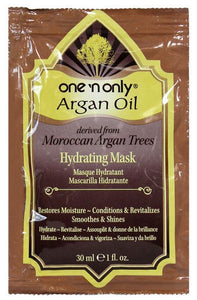 One 'N Only Argan Oil Derived from Moroccan Argan Trees HYDRATING MASK 1 Oz
