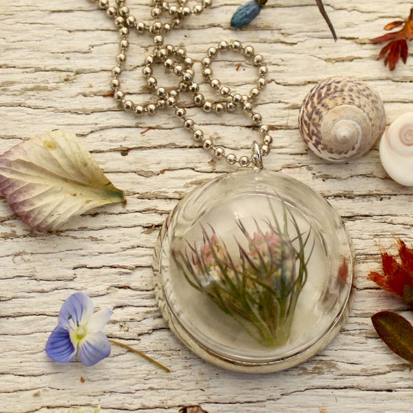 Glass Bubble Memory Keeper Necklace